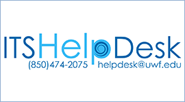 screenshot of UWF ITS Help Desk logo