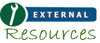 screenshot of External Resources logo