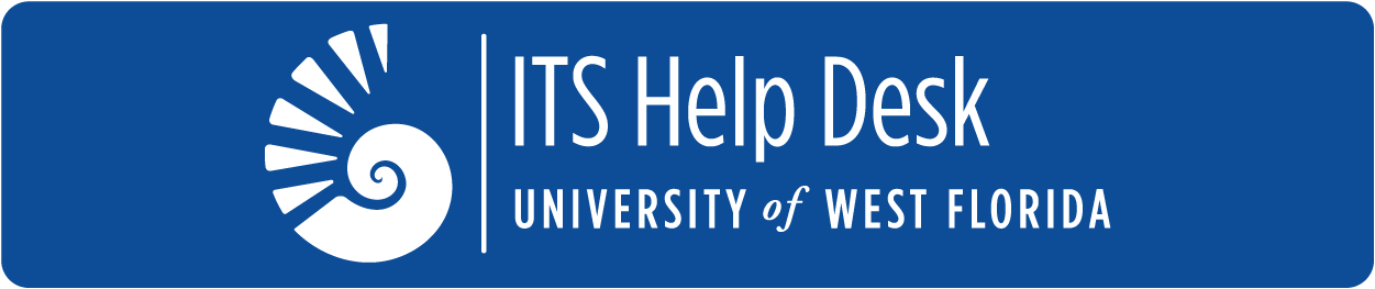 UWF ITS Help Desk logo