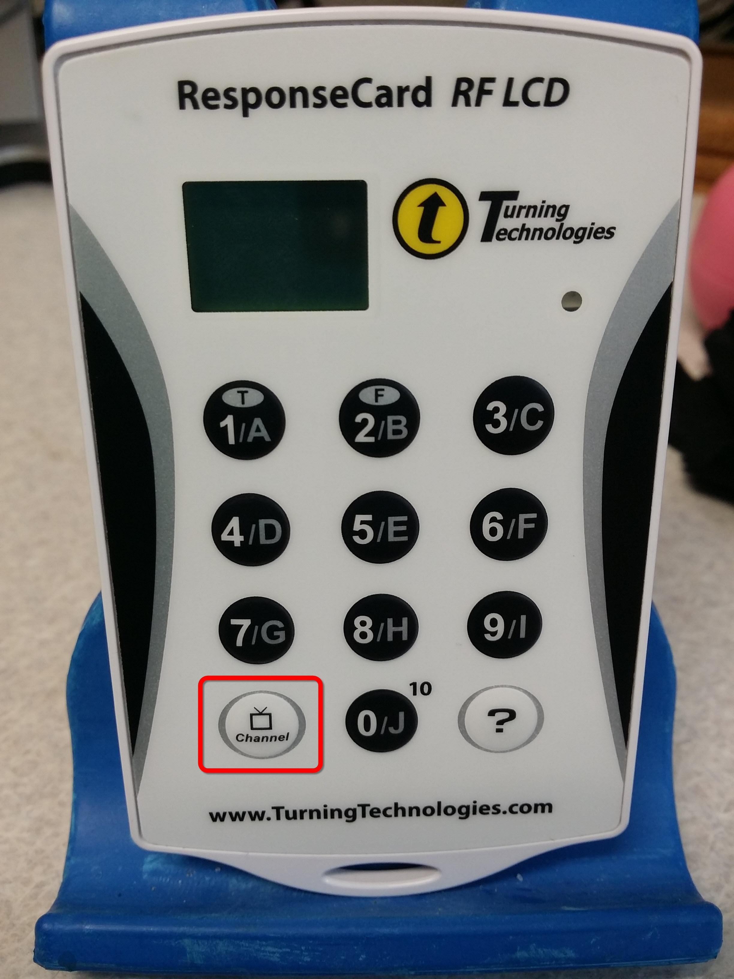 handheld clicker