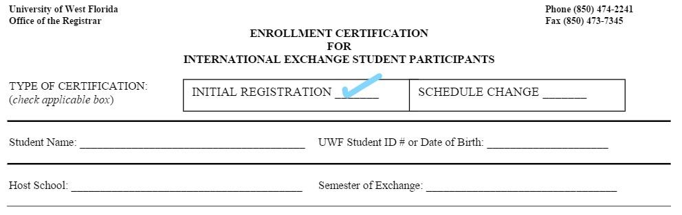 Attendance Verification While Abroad Uwf Public Knowledge Base