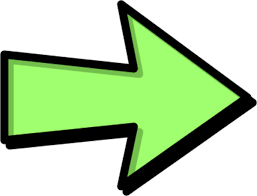 image of arrow - right, green